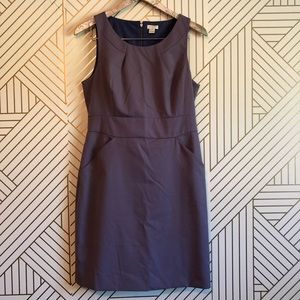J. Crew • women's 8 petite purple midi dress
